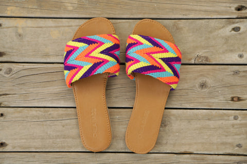 Mimi Cross M Sandals