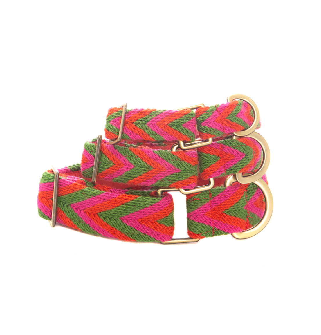 Rojo Set - Collar & Leash