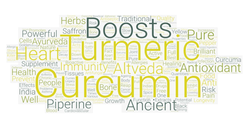 Surprising Health Benefits of Turmeric golden healer capsule from altveda