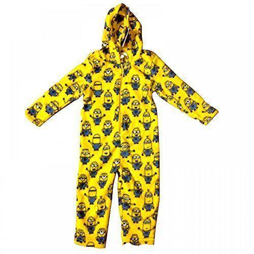 Official Minions Coral Fleece Onesie