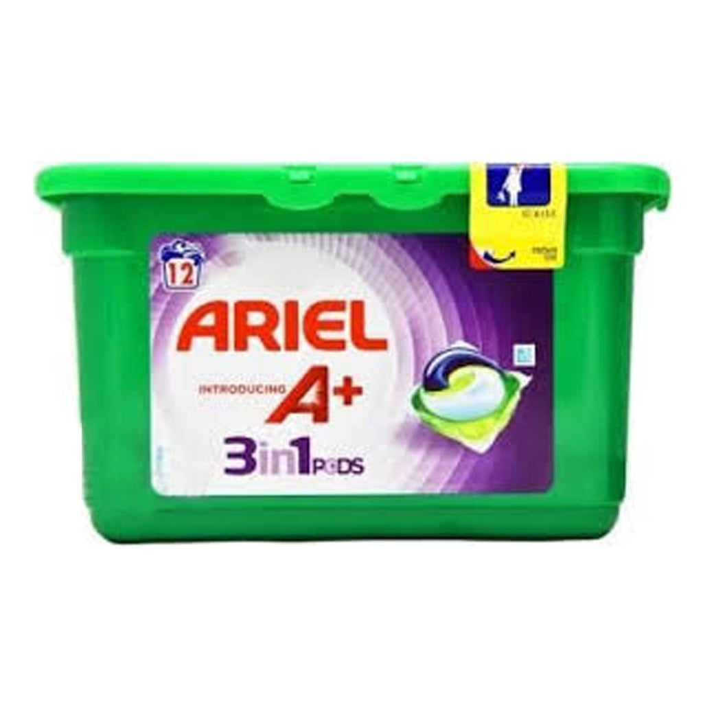 Ariel Colour & Style A+ 3in1 Pods (6 Packs of 12 Washes)