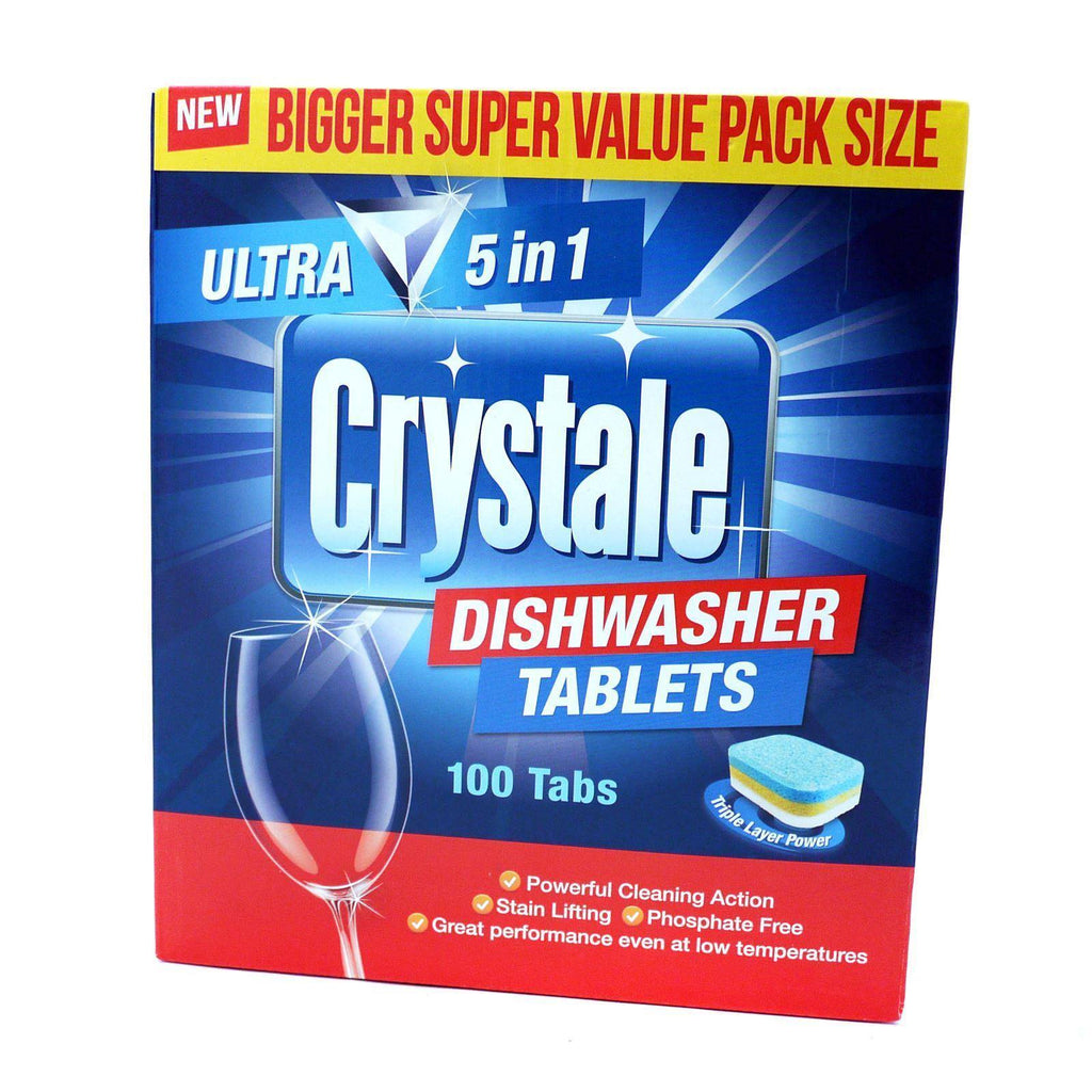 Crystale Dishwater Tablets 100'S