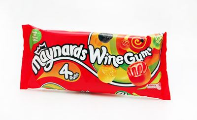 Maynards Wine Gums (21 Packs of 4, Total 84)