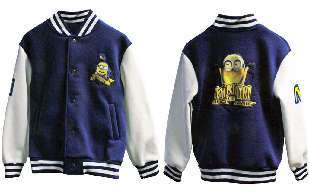 Official Minion Baseball Jacket