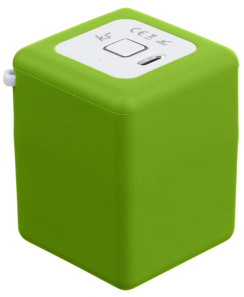 KitSound Shot Rechargeable Universal Bluetooth Pocket-Sized Portable Speaker - Green