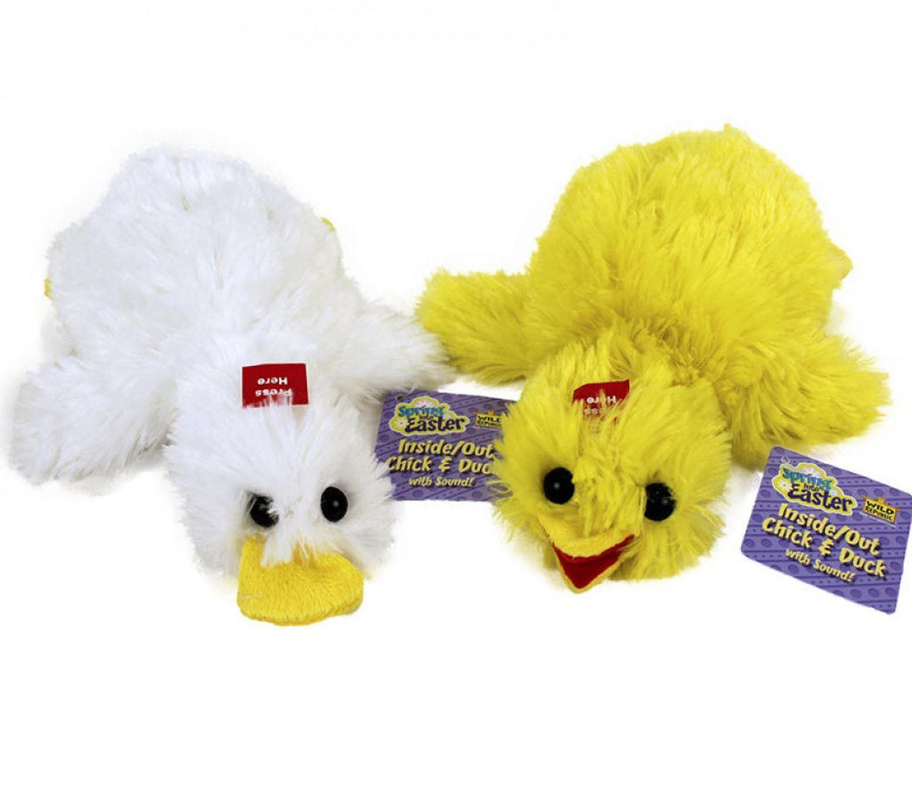 WILD REPUBLIC Inside- Out Chick & Duck Plush Toy