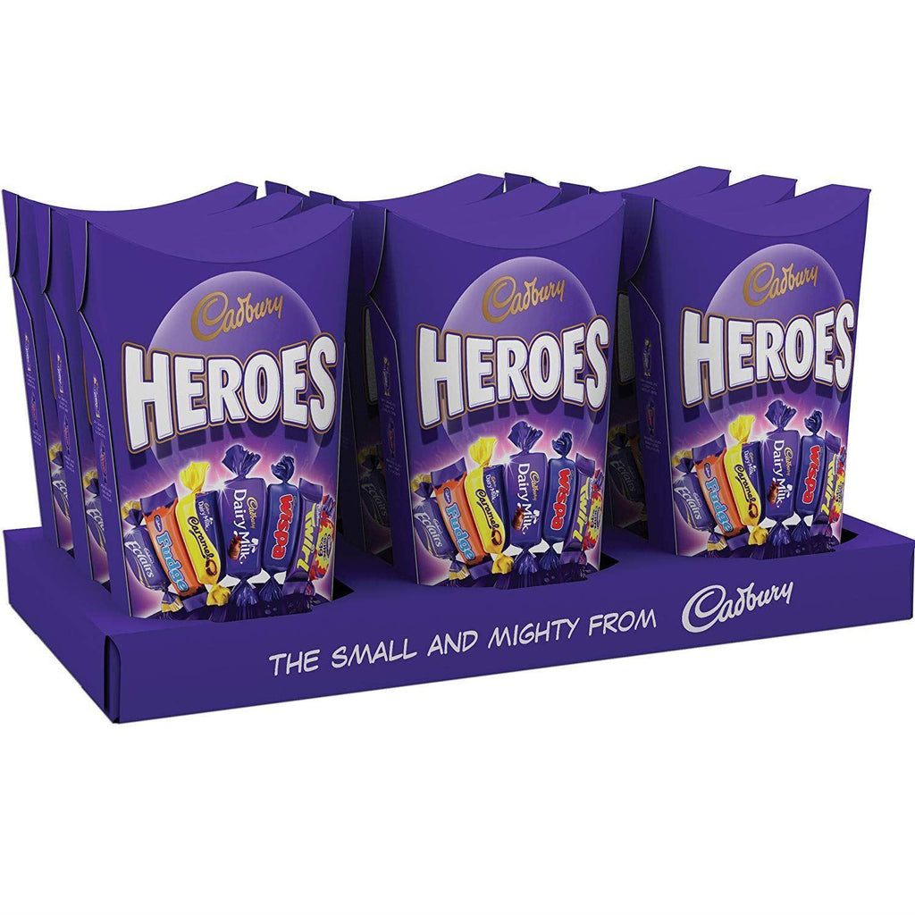 Cadbury Heroes Carton 185G (Box of 9)