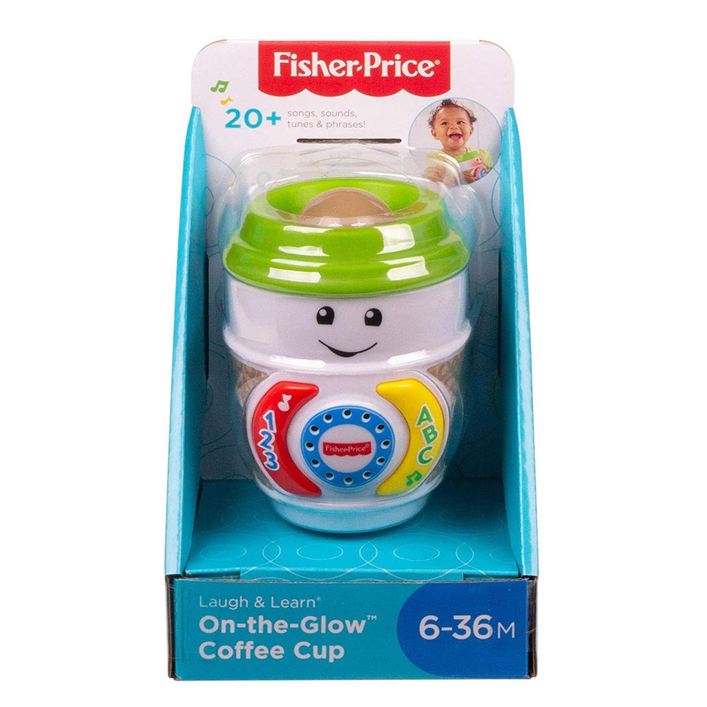 Fisher-Price GHJ04 Laugh & Learn On-The-Glow Coffee Cup