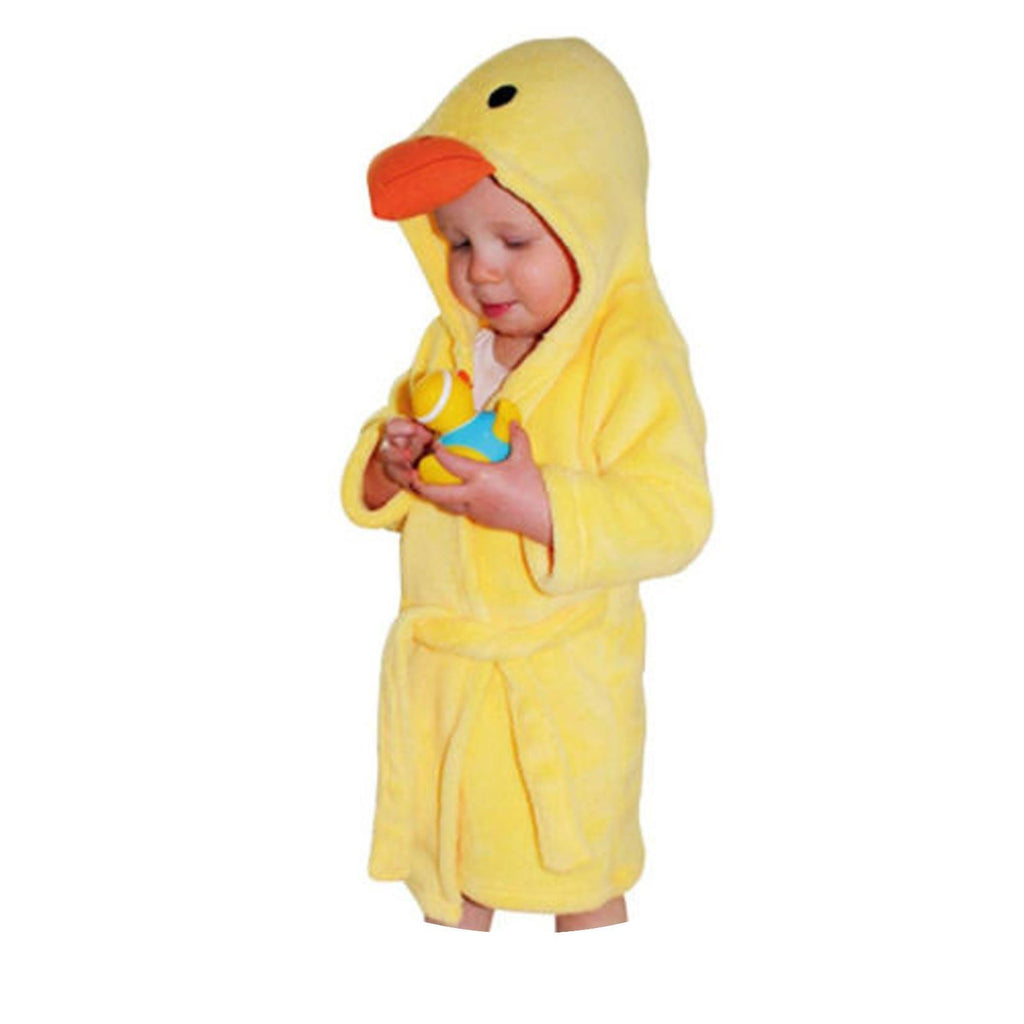 Duck Fleece Bathrobe - 9-12 Months