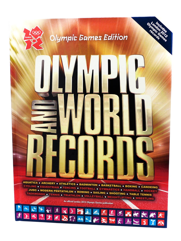 Olympic and World Records, Official Olympic 2012 Games Edition