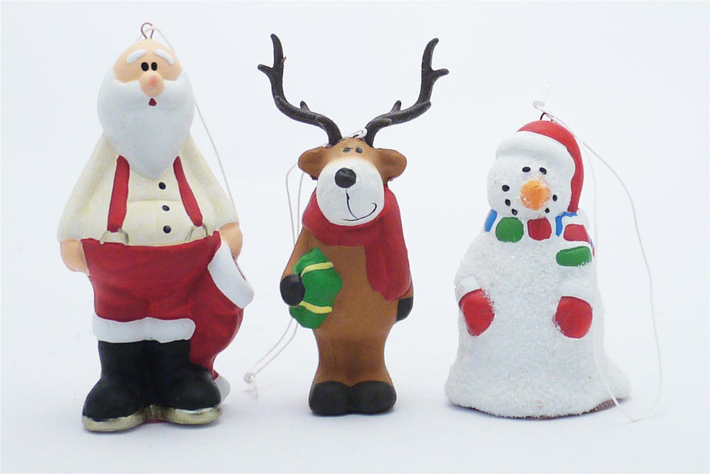 Collection of 3 Christmas Tree Decorations