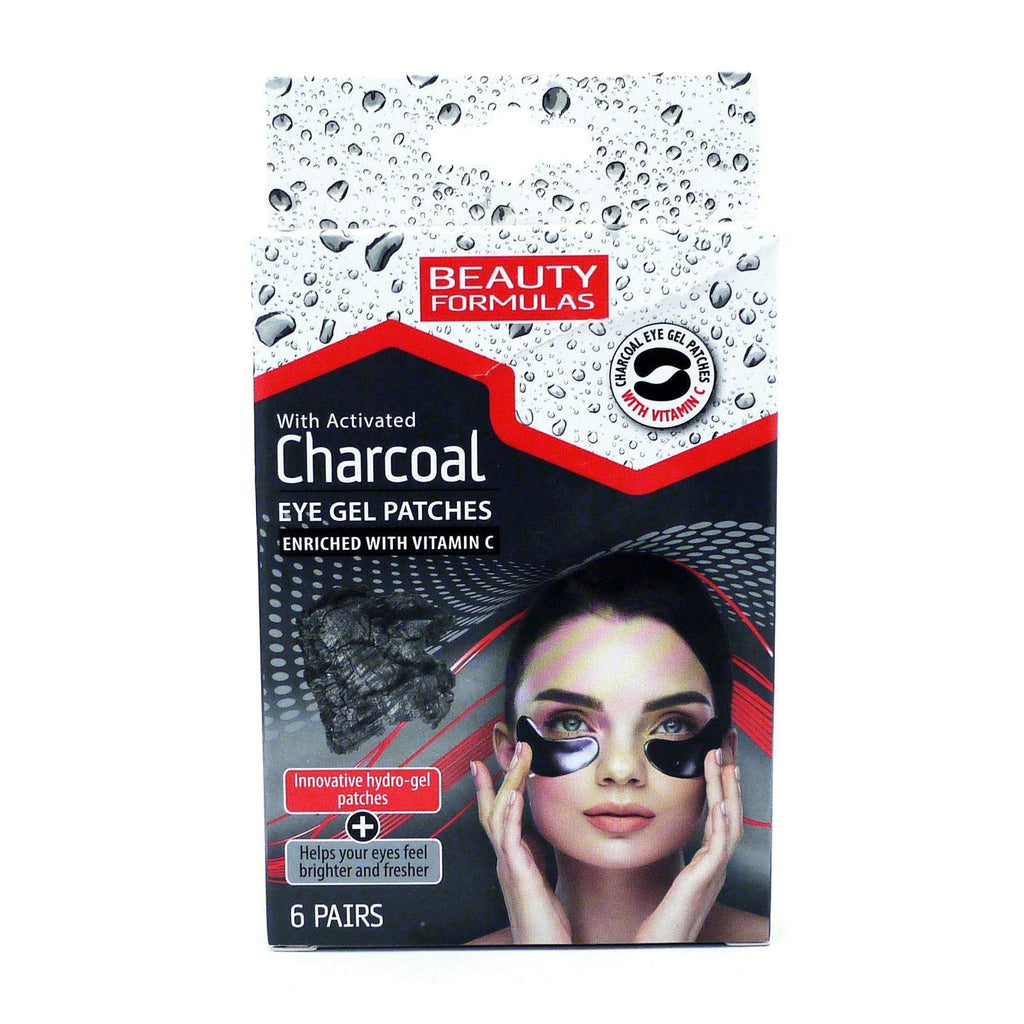 Beauty Formulas Charcoal Eye Gel Patches - 6 pairs