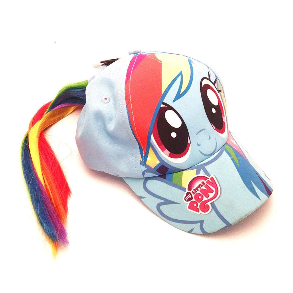 My Little Pony Baseball Cap with Ponytail