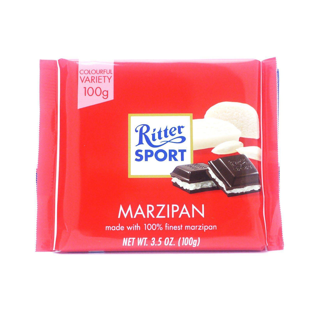 Ritter Sport Marzipan 100g (Box of 12)