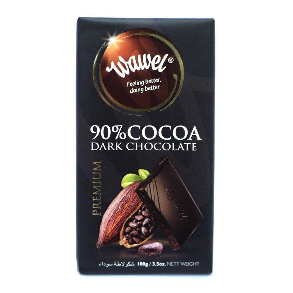 Wawel Premium Dark Chocolate 90% Cocoa 100g (Box of 12)