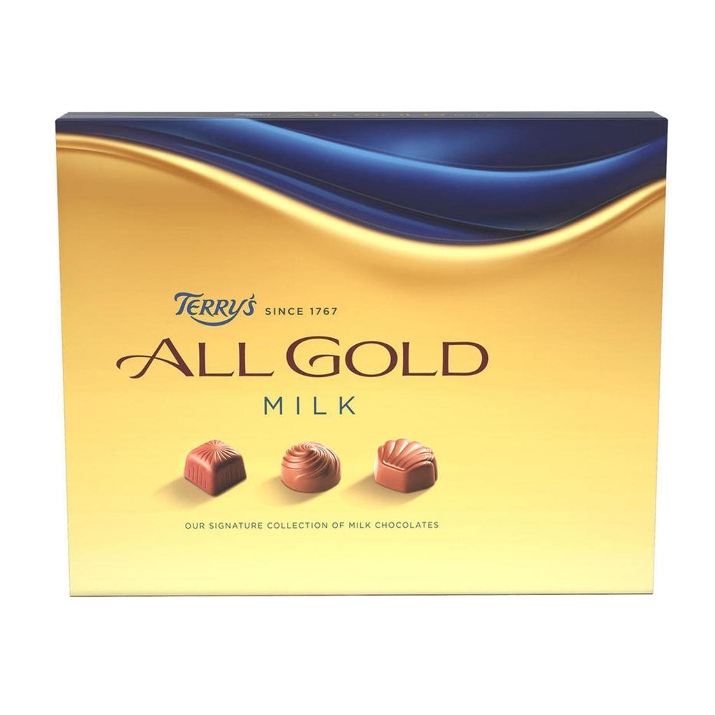 Terry's All Gold Assorted Milk Chocolates 190g (Box of 6)