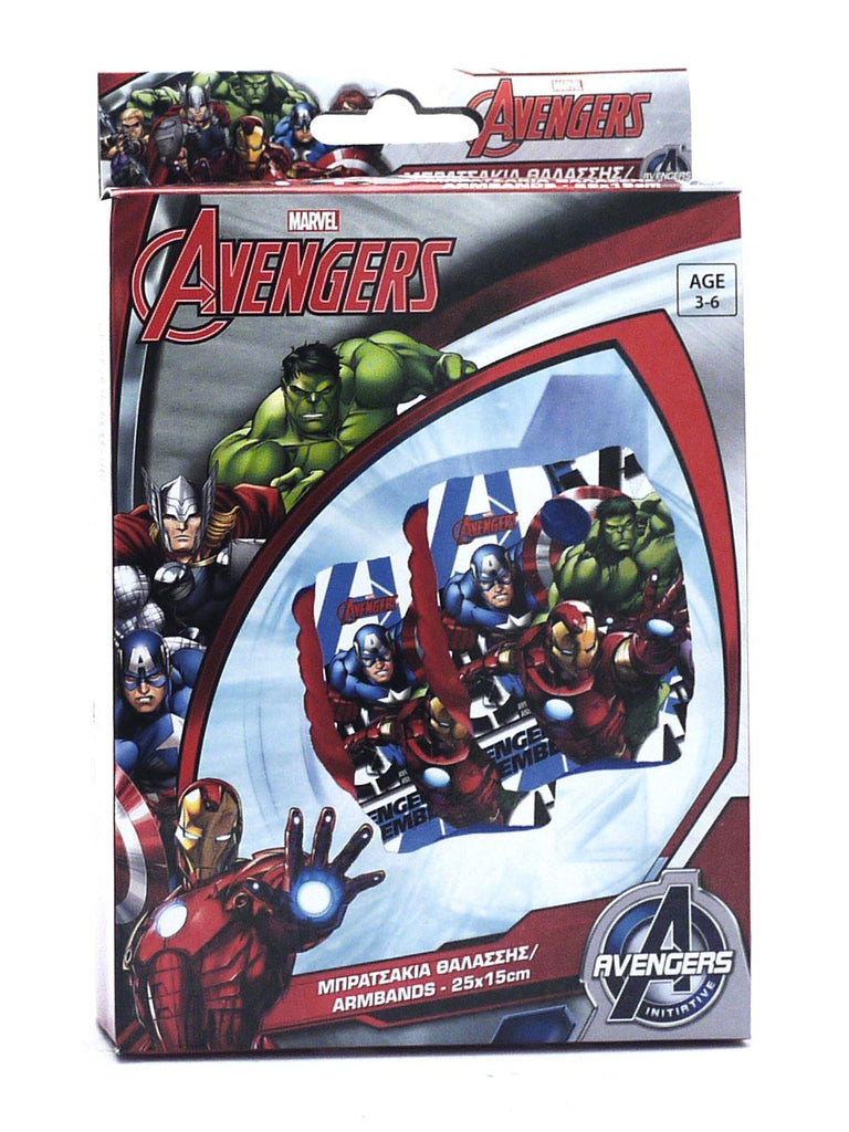 Marvel Avengers Swimming Armbands - 3-6 Years