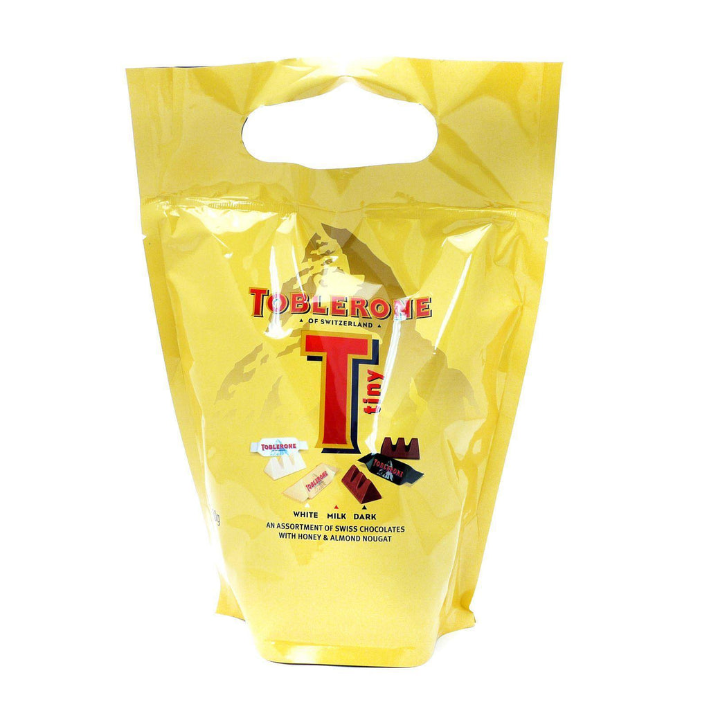 Toblerone Assorted Minis Pouch - 340g
