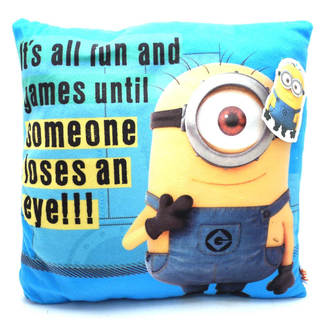Official Minions Cushion - It's all fun...