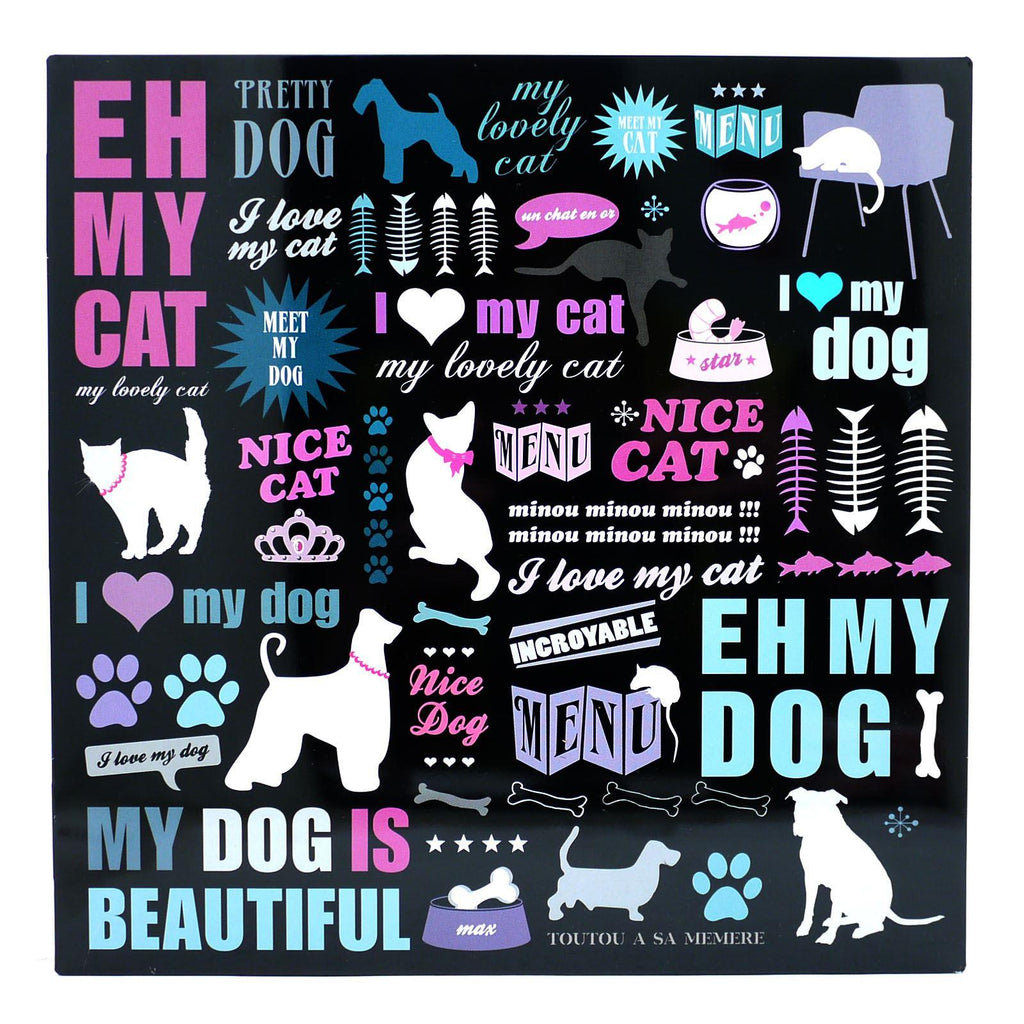 I Love Animals Pet Storage Tin
