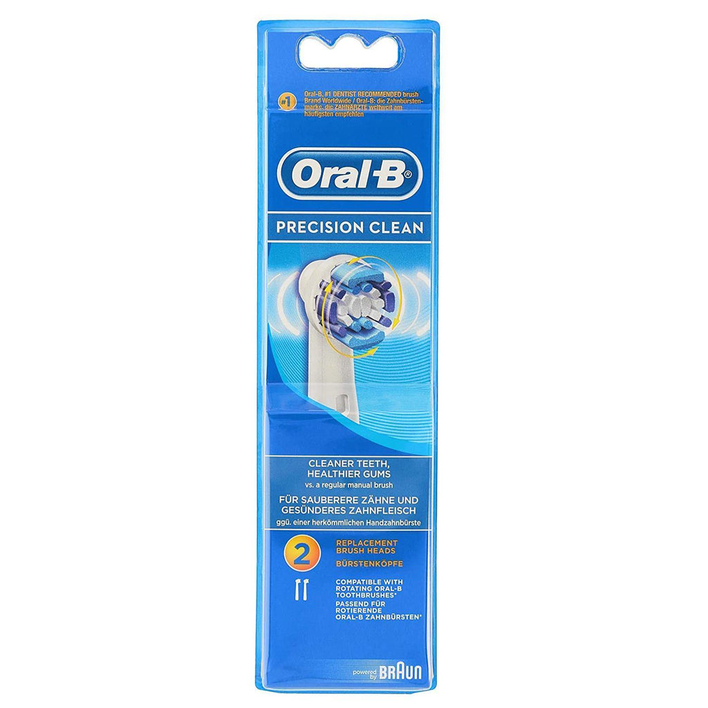 Oral-B Precision Clean Replacement Electric Toothbrush Heads - Pack of 2
