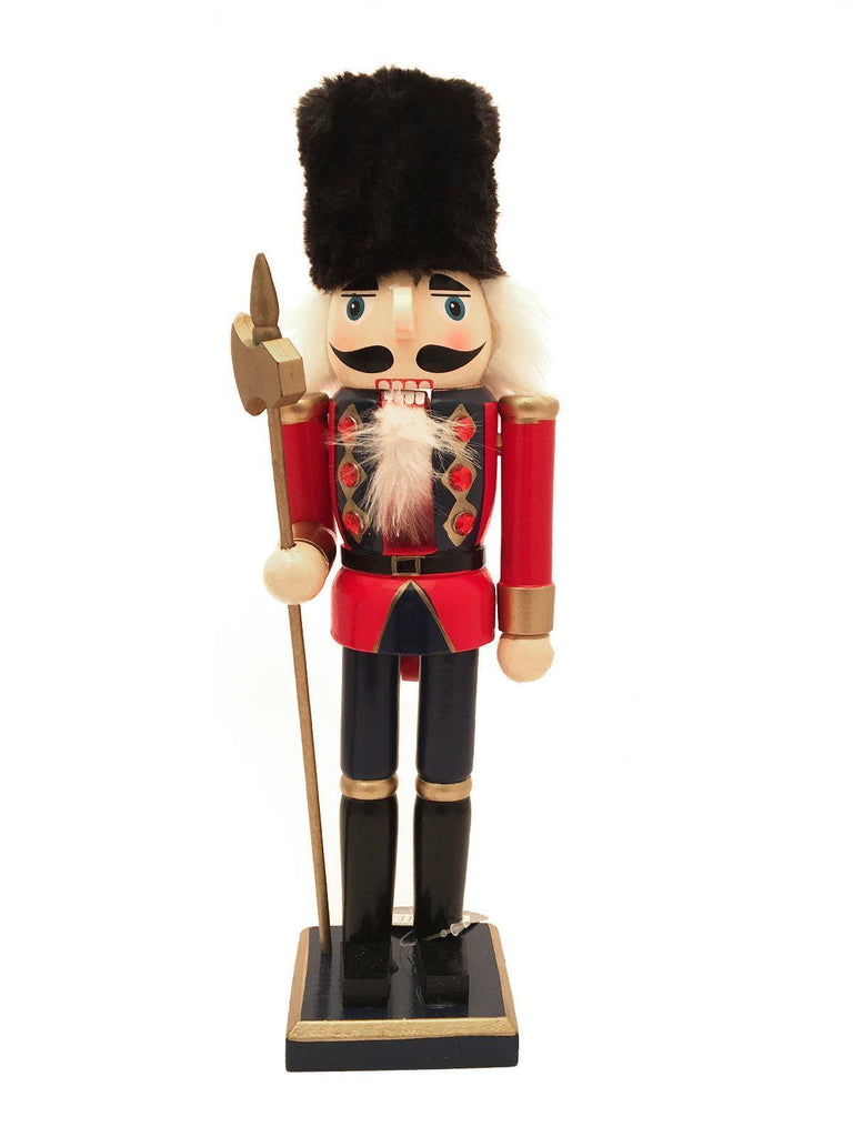 Traditional Christmas Wooden Nutcracker 30cm