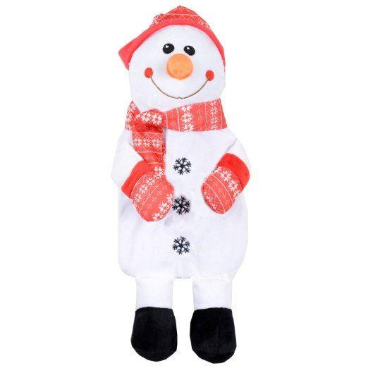 Cute Cuddly Animal Design Hot Water Bottle - Snowman