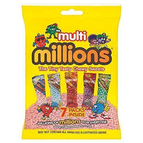 Multi Millions Bag 115g (Box of 10)