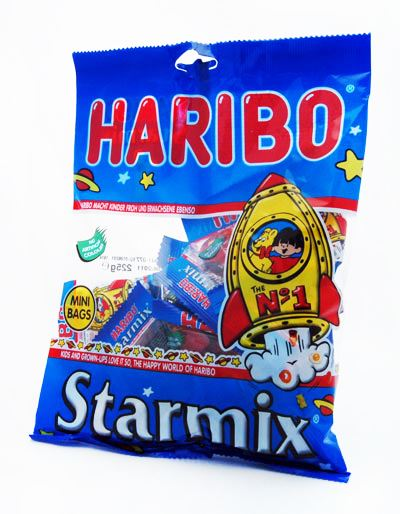 Haribo StarMix Mini Bags 176g (Box of 10)
