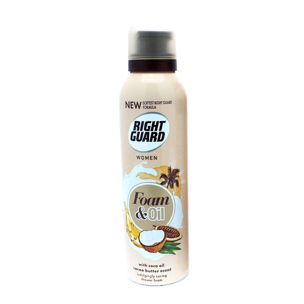 Right Guard Shower Foam Cacao Butter 200ml