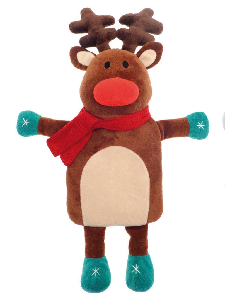 Christmas Winter Reindeer Hot Water Bottle