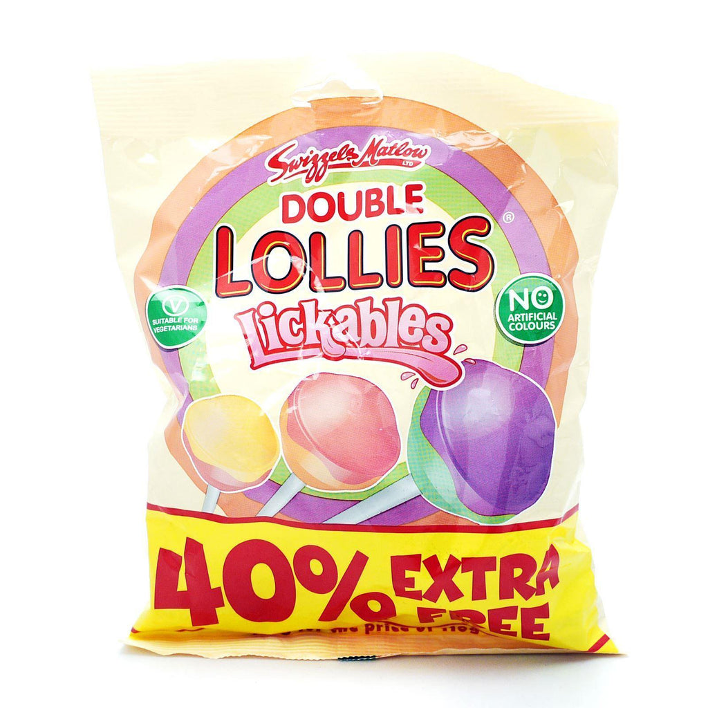 Swizzels Double Lollies 154g (Box of 18)