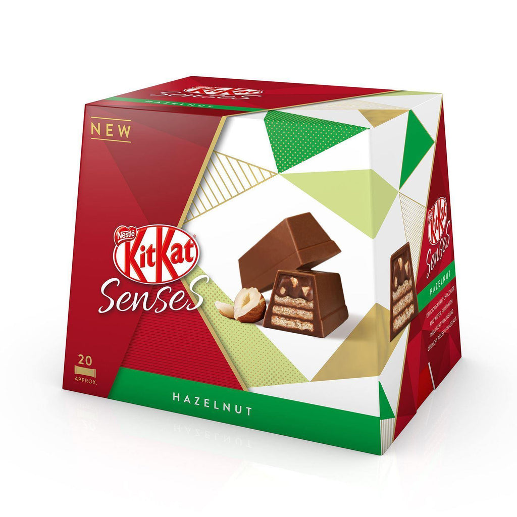 Kit Kat Senses Hazelnut 200g (Box of 6)