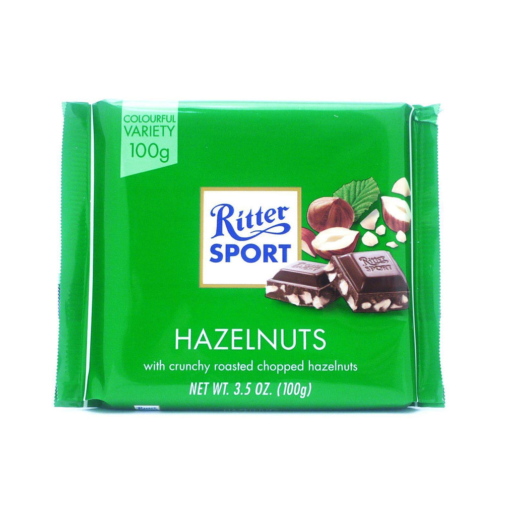 Ritter Sport Chopped Hazelnut 100g (Box of 12)