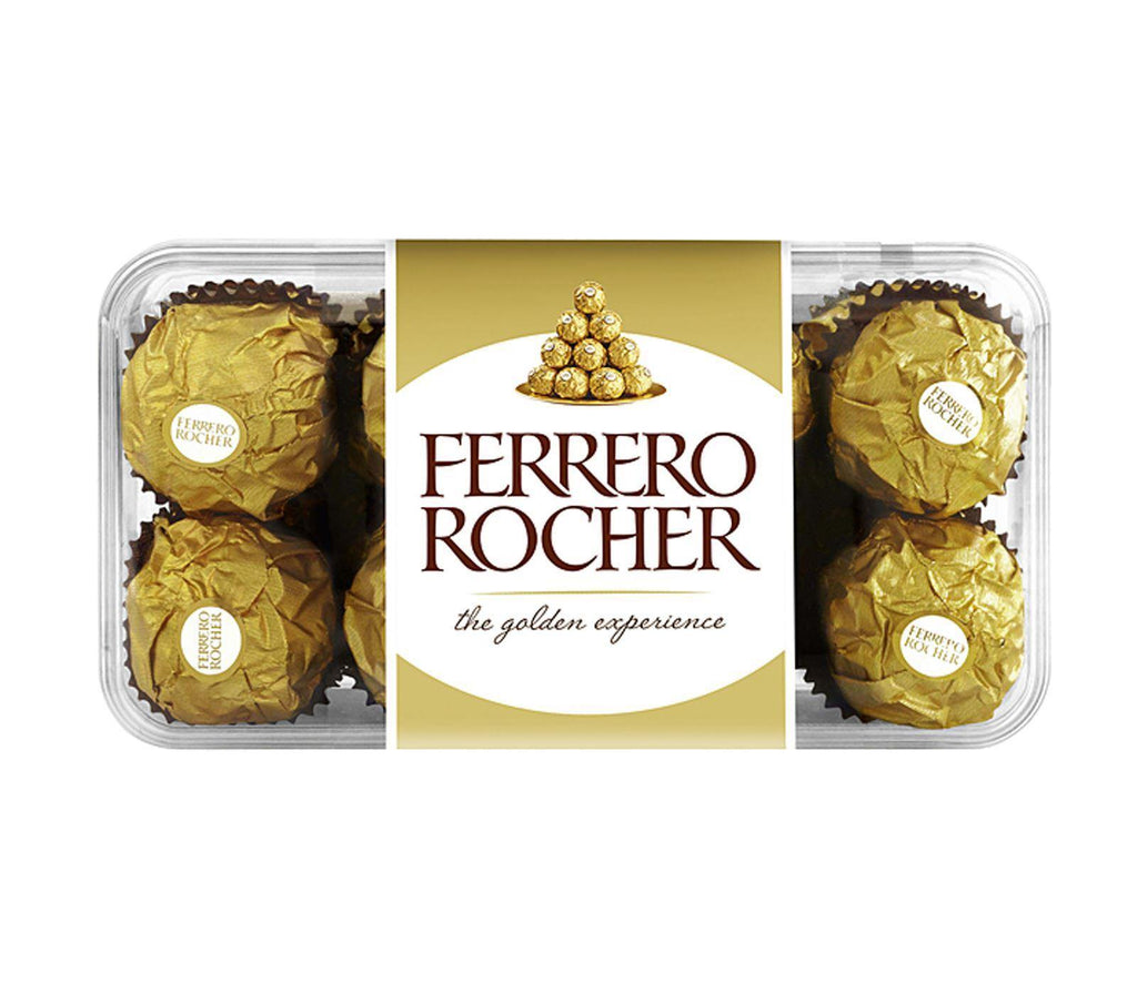 Ferrero Rocher 16 Piece Chocolate Gift Box 200g - Pack of 5 Boxes