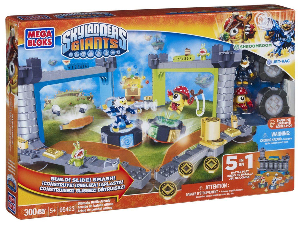 Mega Bloks Skylander Giants Battle Arcade