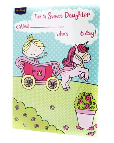 Hallmark Happy Birthday Daughter Card
