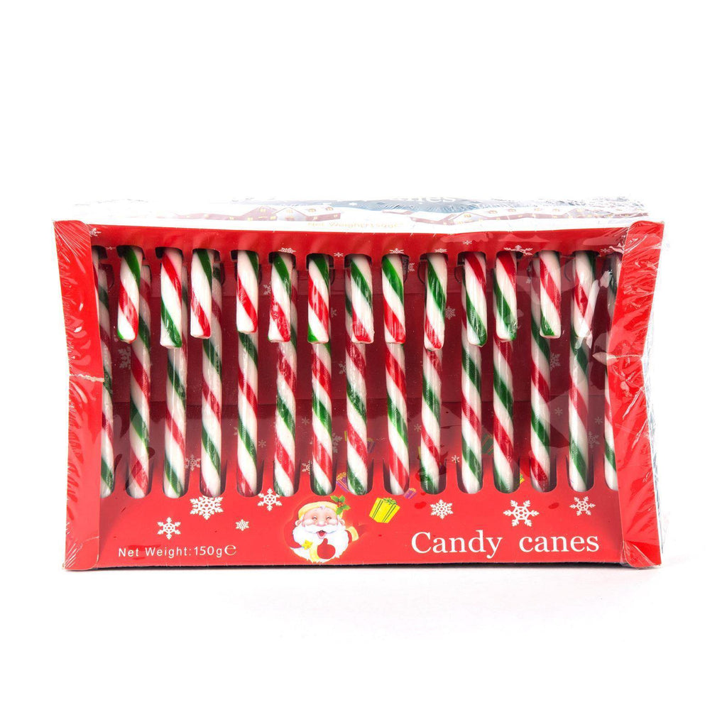 Christmas Tree Decoration Candy Canes - Pack of 15