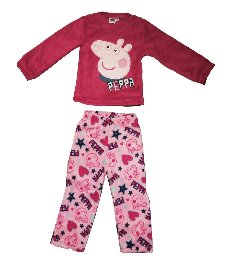 Official Peppa Pig Fleece Pyjamas
