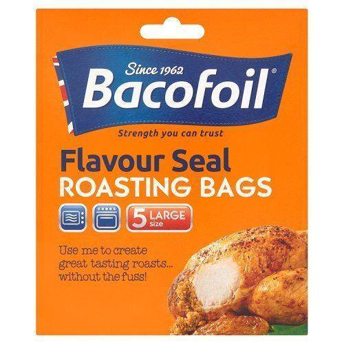 Bacofoil Flavour Seal Roasting Bag Large Size - Pack of 5