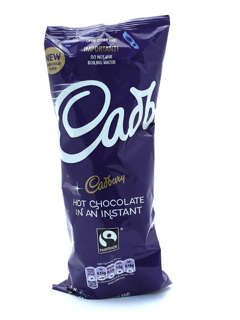 Cadbury Instant Hot Chocolate Drink Cups (5 Packs of 7, Total 35)