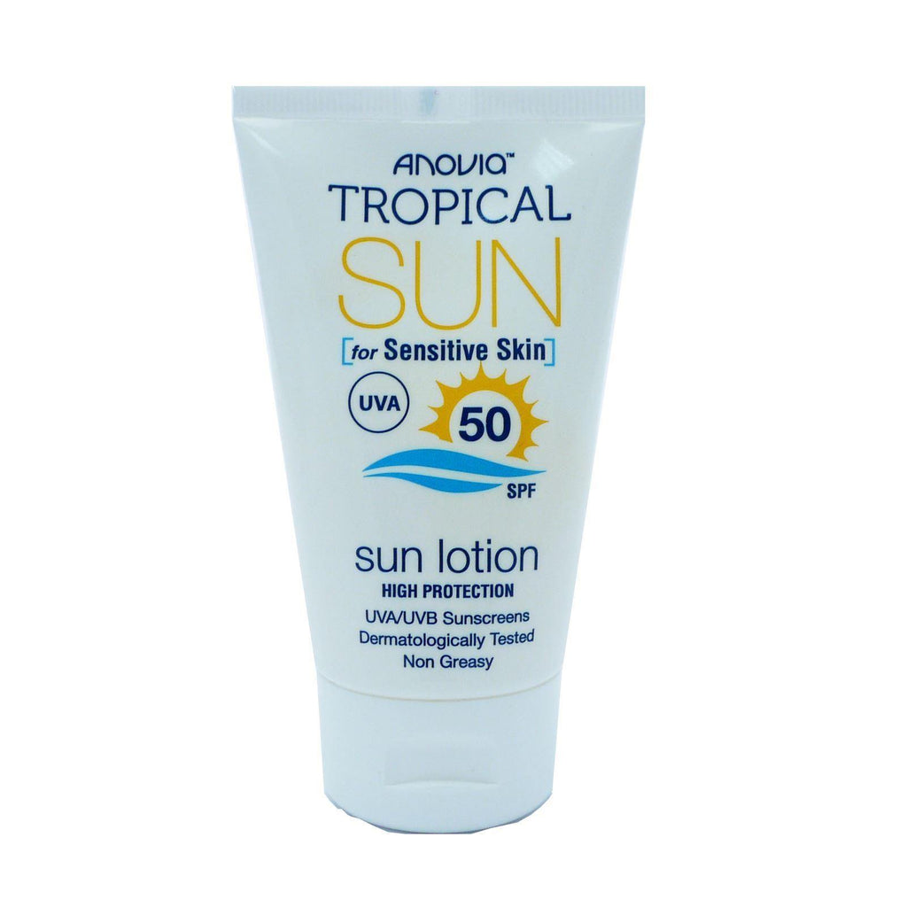 Anovia Tropical Sun Sensitive Skin SPF 50 Facial Sun Lotion 40ml