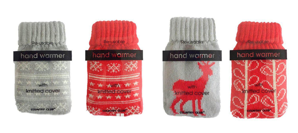 Nordic Handwarmer with Knitted Cover