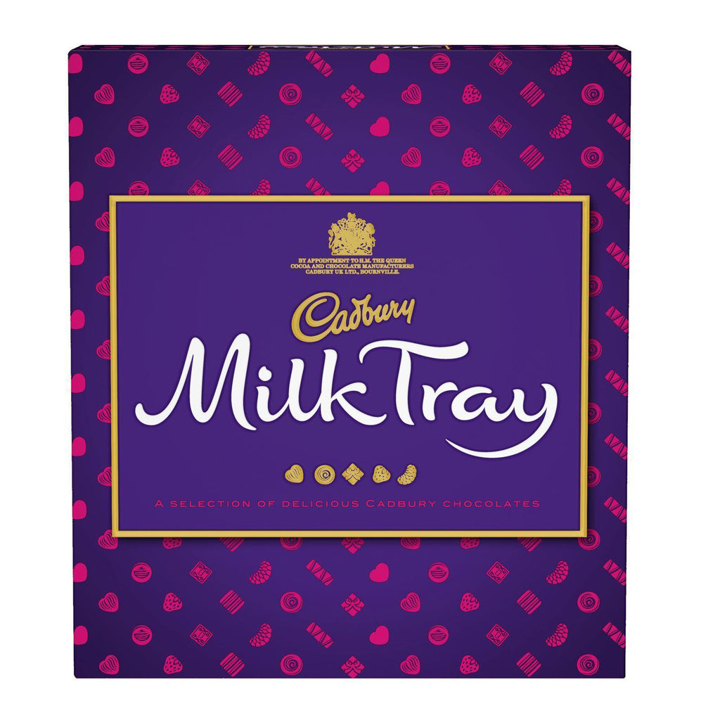 Cadbury Milk Tray Box 360g (Box of 6)