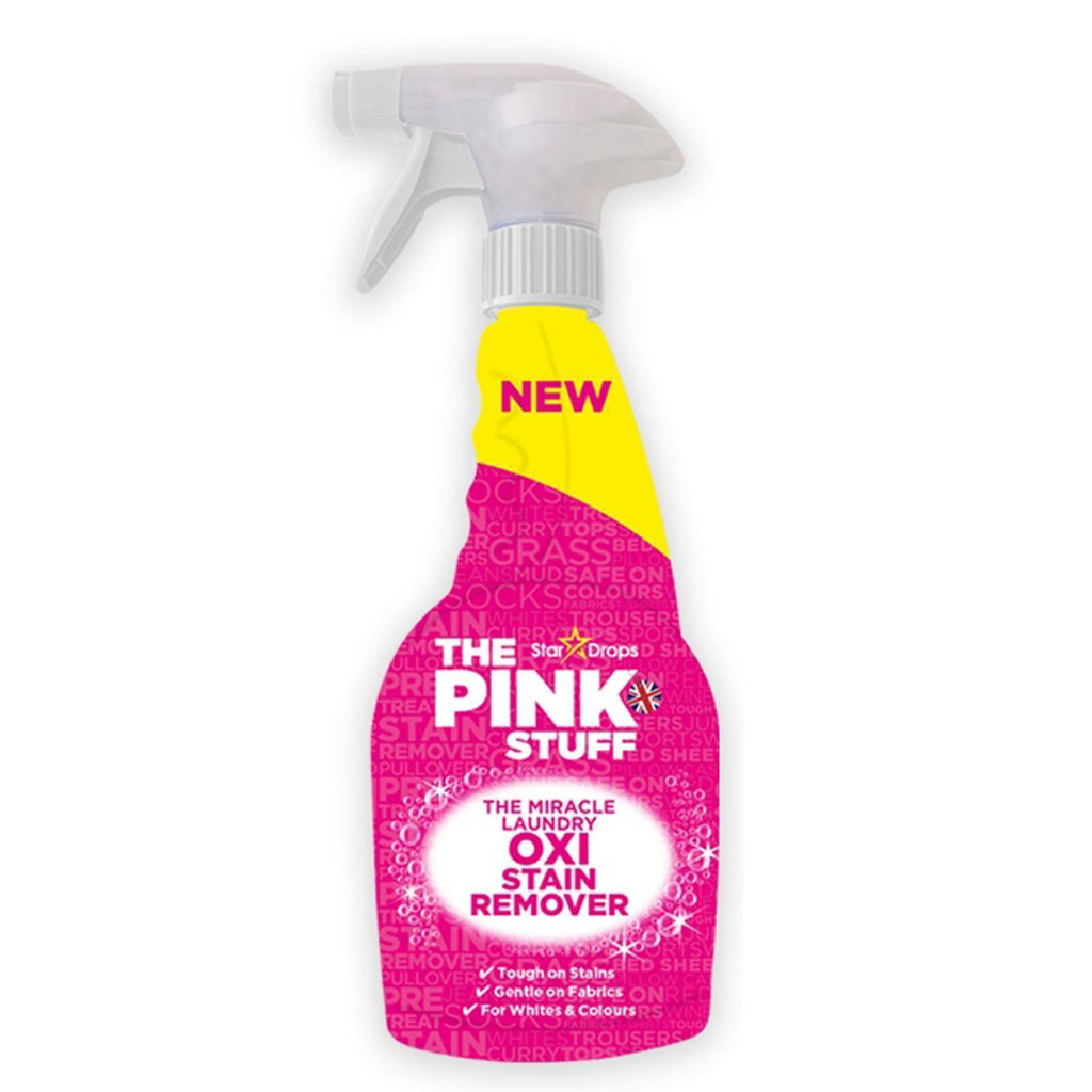 Stardrops The Pink Stuff Miracle Laundry Oxi Stain Remover Spray 500ml