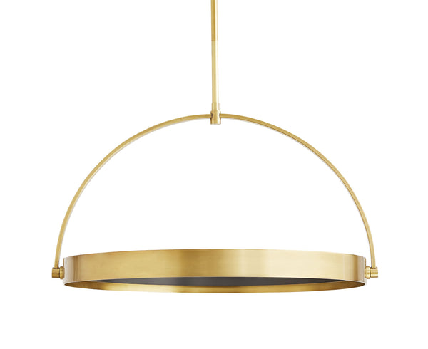 Fisk Pendant - Antique Brass | DSHOP