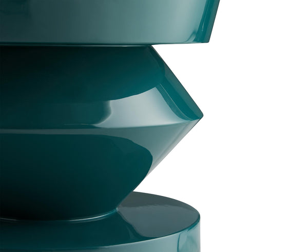 Contemporary Green Accent Table | DSHOP