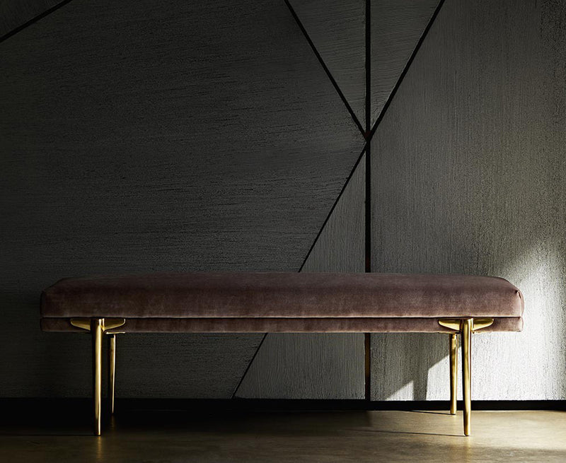 Arteriors Art Deco Inspired Bench | DSHOP