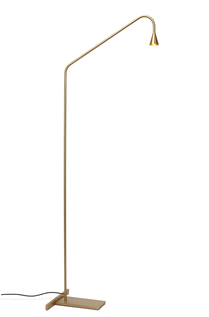 Austere-F Brass Floor Lamp | DSHOP