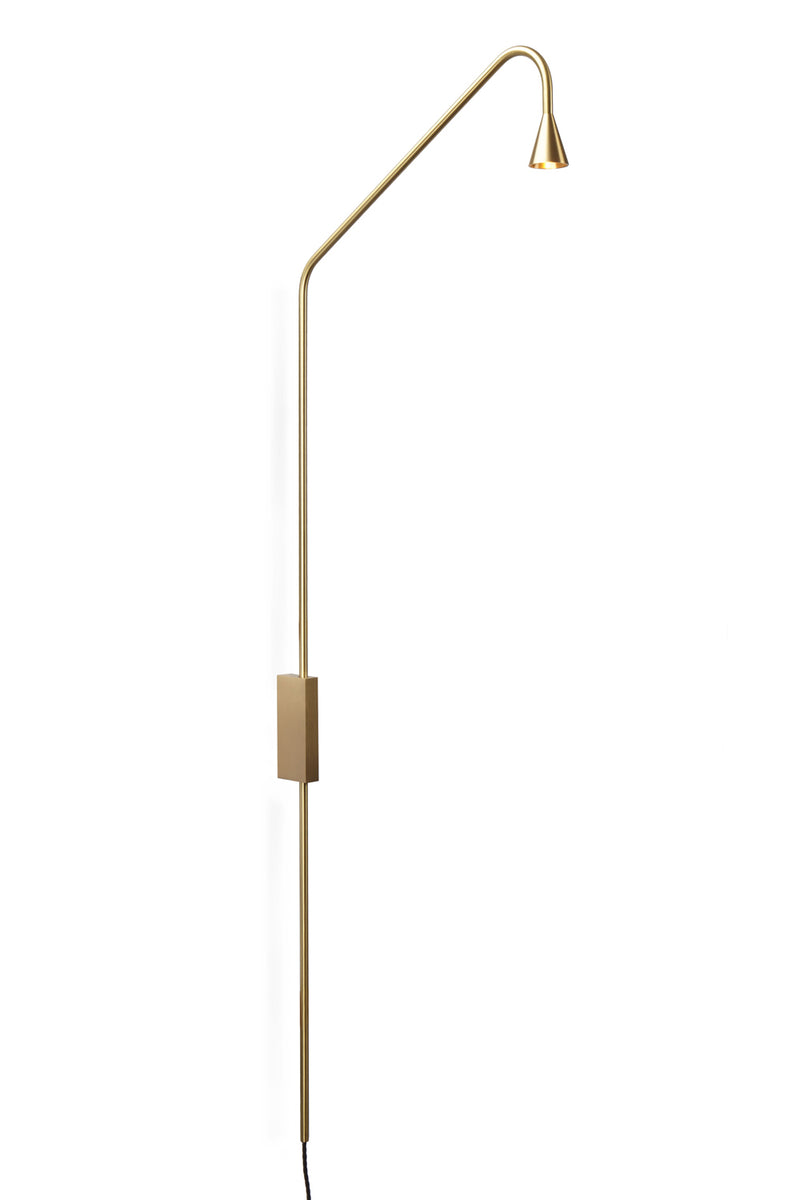 Brass Austere-W Wall Lamp | DSHOP